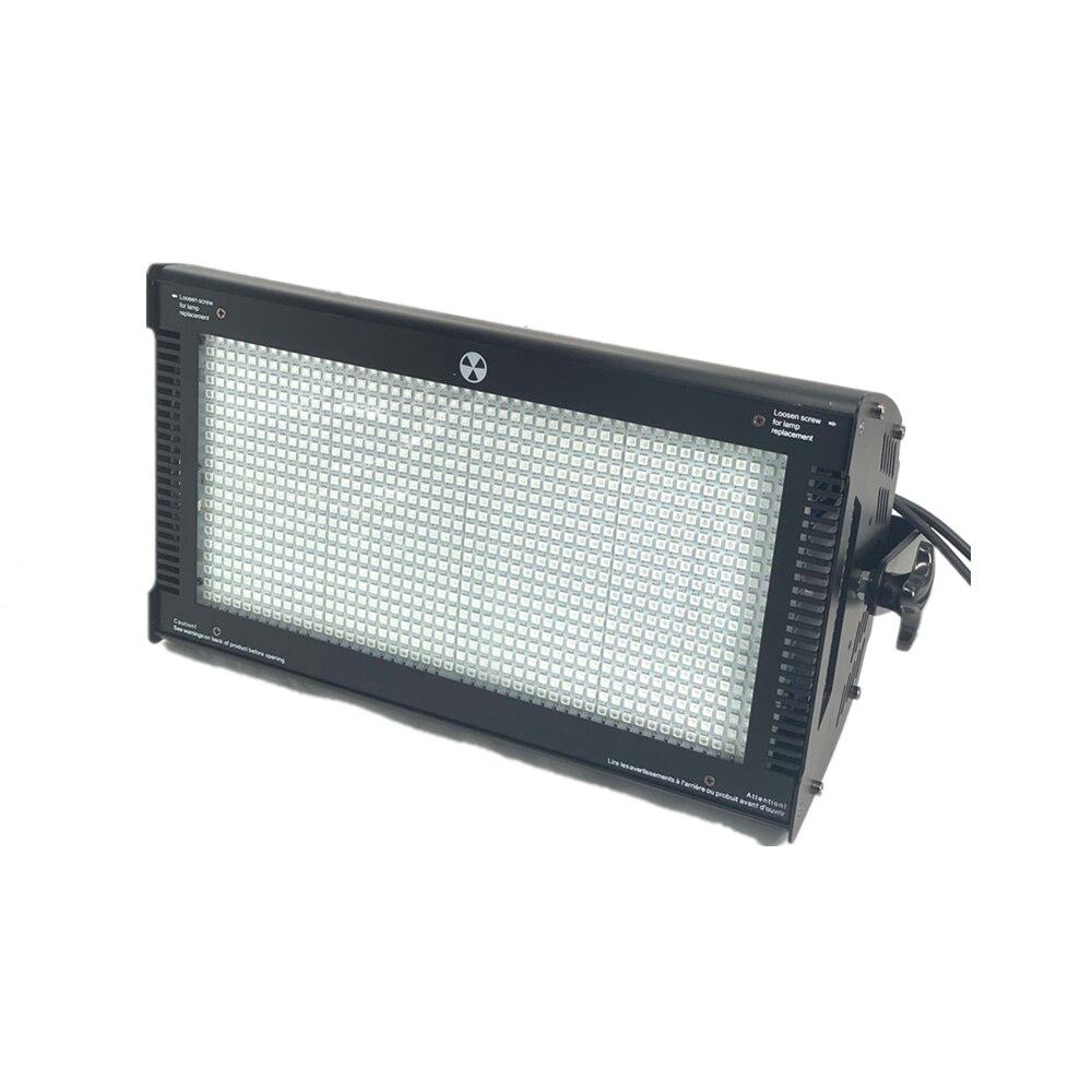 1000 Вт светодиодный RGB 3в1 стробоскоп светодиодный стробоскопический светильник dmx супер яркий 1000 Вт теплый белый dj бар светильник