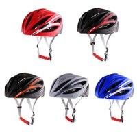 Bicicleta bicicleta ciclismo capacete com viseira destacável acolchoado & ajustável para adultos capacetes de segurança