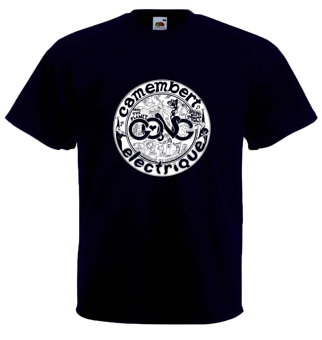 GONG-CAMEMBERT ELECTRIQUE tribute T-shirt