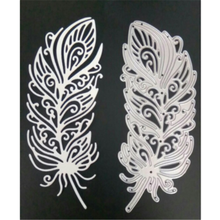 Eastshape Feather Dies Metal Cutting Scrapbooking for Card Making Embossing Cut Paper Craft Album Stencil New 2019
