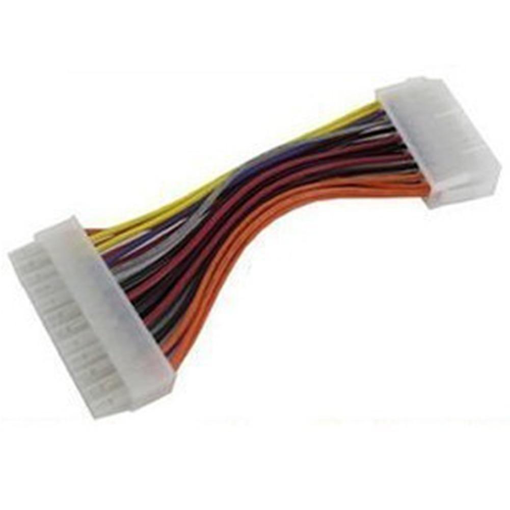 20 ATX 20 Pin Female to 24 Pin Male Internal PC PSU Power Adaptor Cable (4)