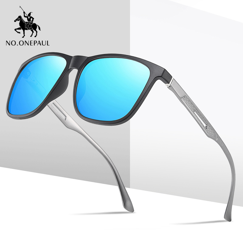NO.ONEPAUL Glasses Eyeglasses Gafas Oculos De Sol Masculino For Men Men's Sunglasses Brand Designer Pilot Polarized Male Sun