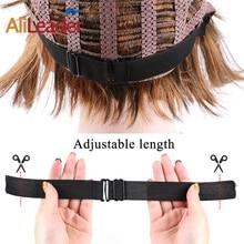 Alileader Новая регулируемая эластичная нейлоновая лента для плетения сеток для волос эластичная лента с регулируемым ремешком для изготовления париков инструменты для париков