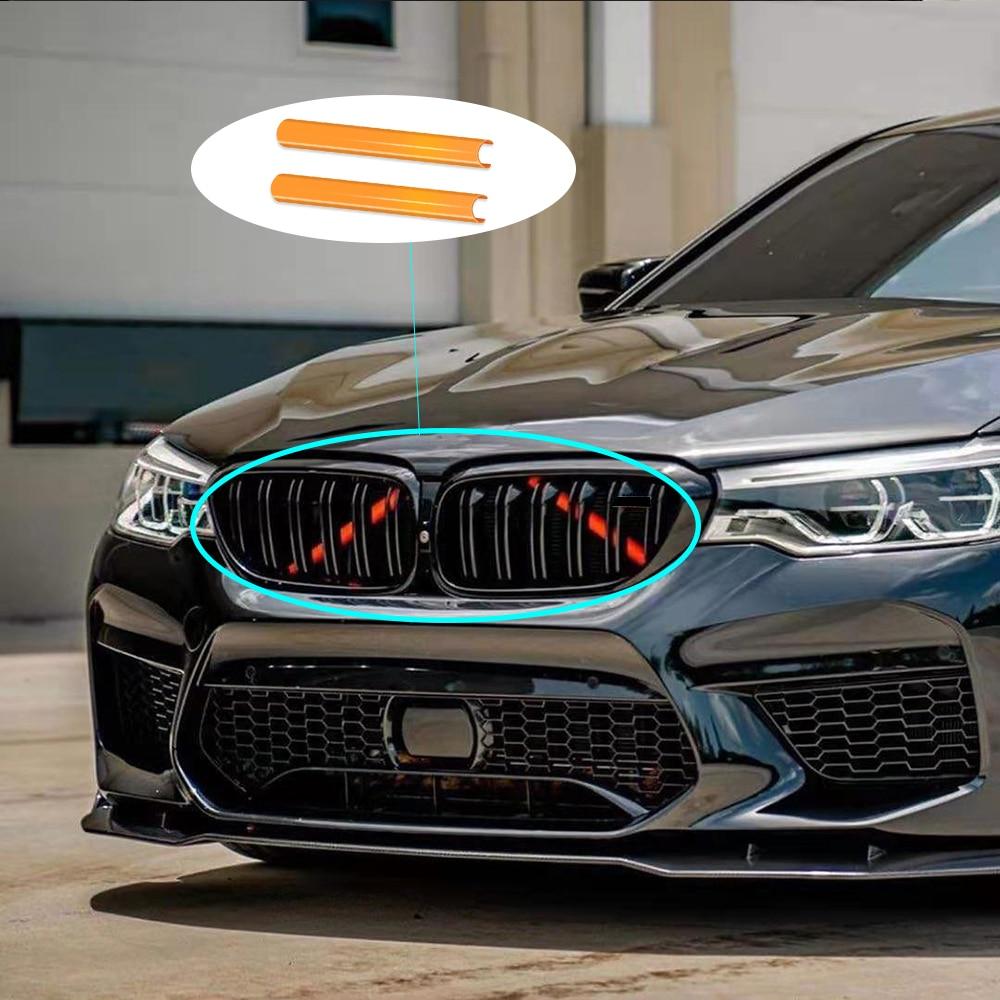 Накладка на решетку радиатора в спортивном стиле, 4 цвета, для BMW 1, 3, 4, 5, 7-Series, F10, F11, F02, F20, F30, F31, g30.