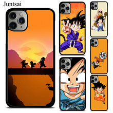Cute Kid Goku Dragon Ball ZTPU Phone Case For iPhon