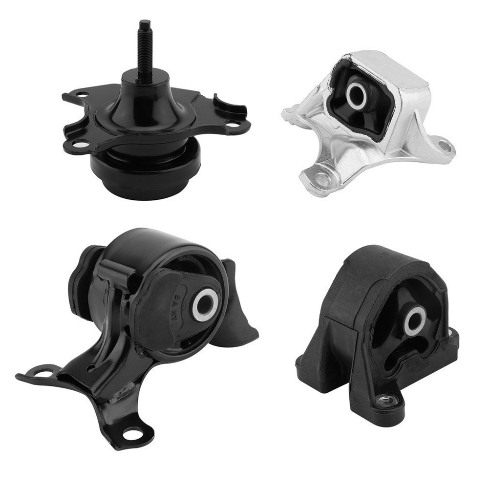 4PCS Engine Motor Transmission Mount Front Rear Kit Set For Honda Civic 2.0L 2002-2005 For Acura RSX 2.0L 2002 2003 2004-2006