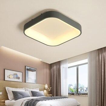 Square Modern LED ceiling light lustre led ceiling Lamp for Livingroom Bedroom kitchen led lamp Surface mounted ceiling lights