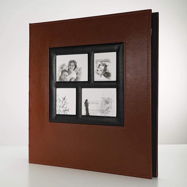 Album Photo contient 4X6 400 Photos Pages grande capacité couverture en cuir reliure mariage famille bébé Albums Photo livre