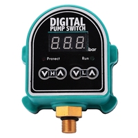 Digital LCD Water Pumps Pressure Switch Garden Gas Eletronic Controller Control Switch for Water Pump Supplies|Pressure Gauges|   -