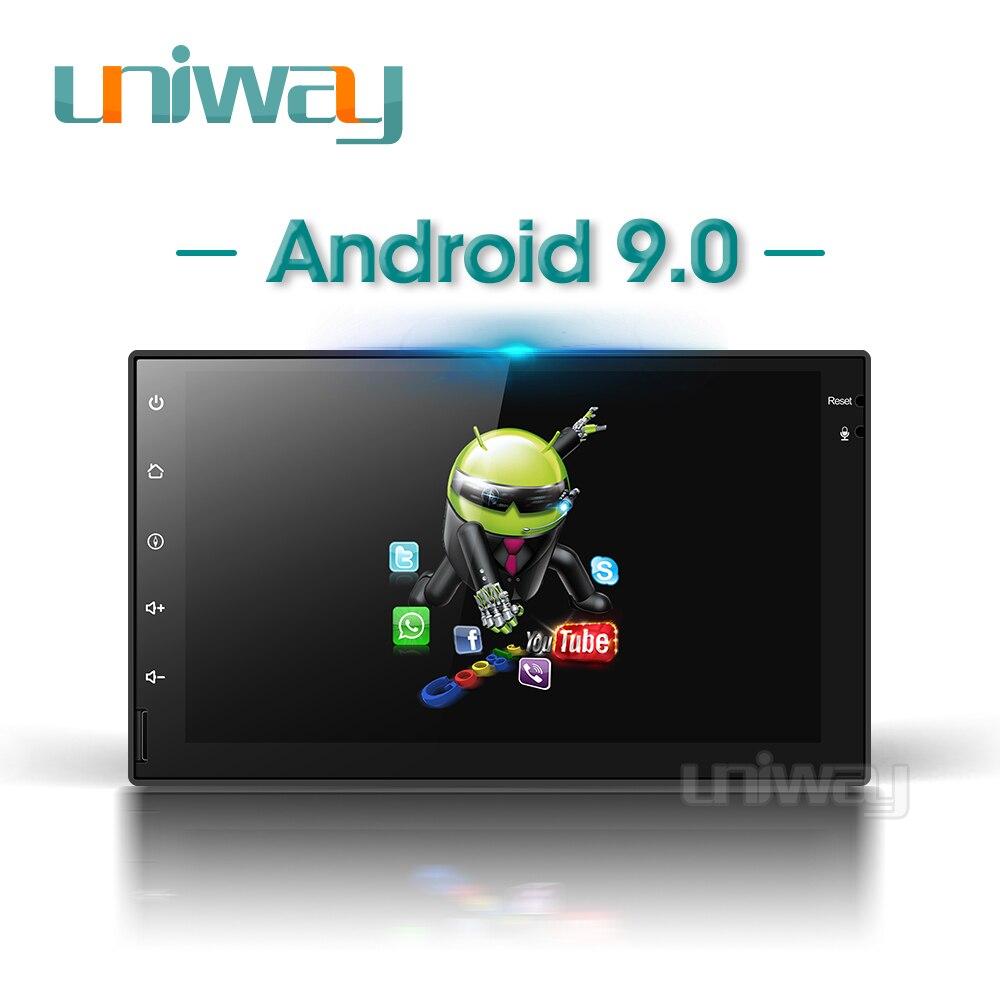 Uniway android 9.0 AWD301 voiture dvd gps pour nissan qashqai x-trail almera note juke universel multimédia voiture gps lecteur de navigation