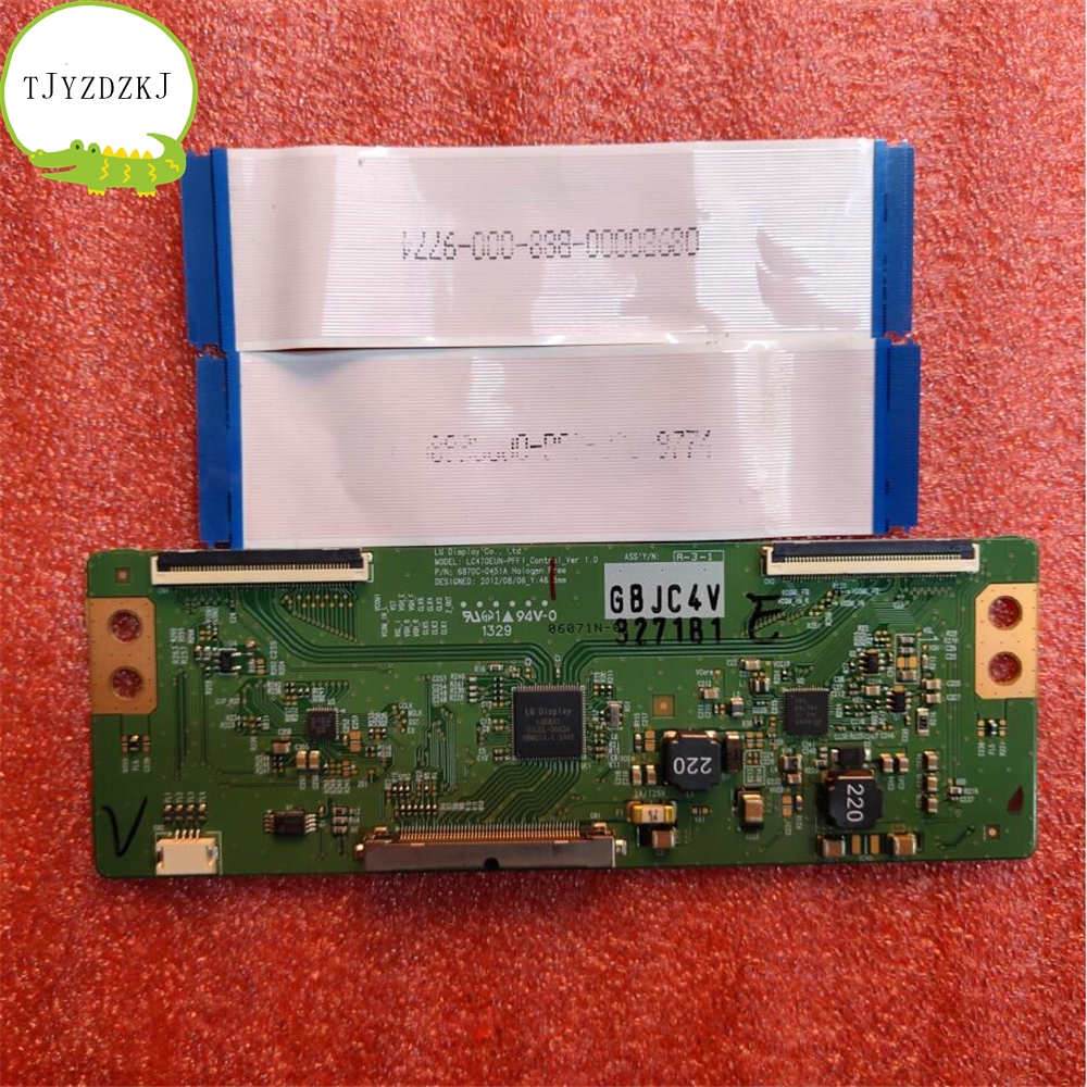 Good Test Original T-CON For LG LC470EUN-PFF1 6870C-0451A Logic Board LC420EUE LC420EUN(PF)(F1)