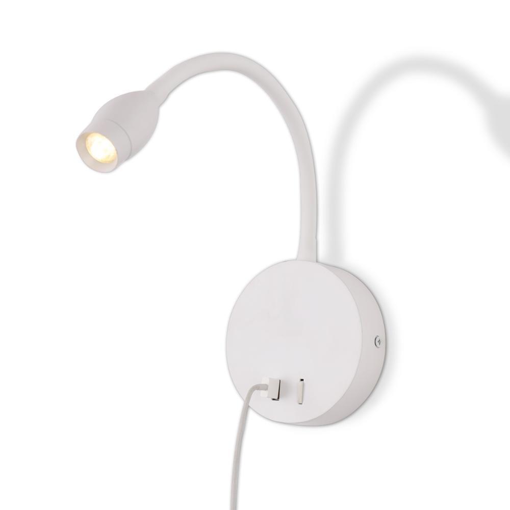 zerouno led book light bedside reading lamp nightlight 360 degree angle adjustable usb nightlight wall mounted lighting lampada