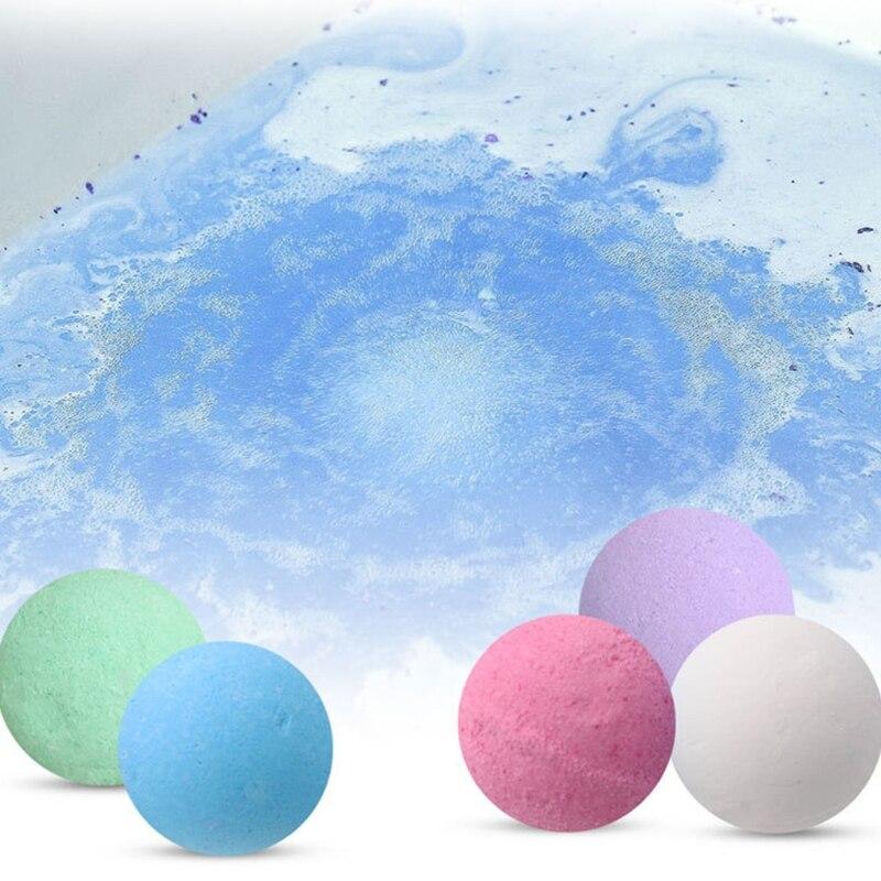 5Pcs 20g Blase Kleine Bad Bomben Stress Relief Feuchtigkeitsspendende SPA Dusche Reiniger
