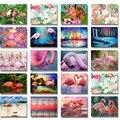 Алмазная мозаика в виде фламинго, картина с вышивкой животных, мозаика с птицами, подарок для любимого человека, картина на стену