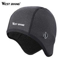 West biking Велоспорт Кепки s зимние теплые флисовые шляпы Термальность
