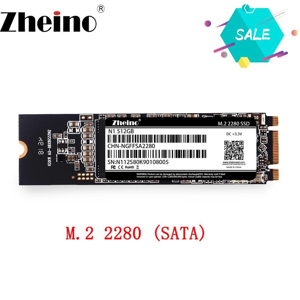 Zheino M.2 2280 128GB 256GB 512GB 1TB SSD M.2 NGFF SSD Interno Solid State Hard Disk per il Computer Portatile Desktop