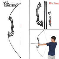 1set Archery 53inch 35lbs Straight Pull Bow Shooting Training Practice Recurve Bow With Finger Guard For Hunting Accessories