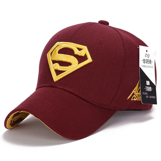 New Fashion Gorras Superman Hat Casquette Superman Baseball Cap Men Brand Women Bone Diamond Snapback Cap For Adult Trucker Hat 10