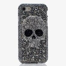 Fundas de Metal con esqueleto de calavera 3D para Samsung galaxy S9, S10, S20 Plus, S10e, Note 10 Lite, 10 + 20, Ultra 9, cristal