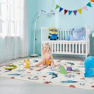 Składane dziecko aktywność mata XPE wodoodporne zabawki mata do zabawy dzieci dywan pianka miękka Playmat dla Kid koc do zabawy karimata dla dziecka