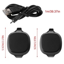 USB Charger Dock Station Cradle Cable Line for garmin forerunner 10/15 GPS Watch