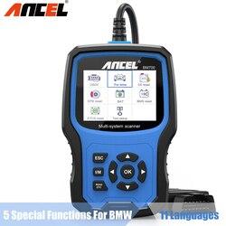 ANCEL BM700 Full System OBD2 Automotive Scanner Code Reader Oil Battery EPB Airbag TPMS Reset Car Diagnostic Tool for BMW MINI