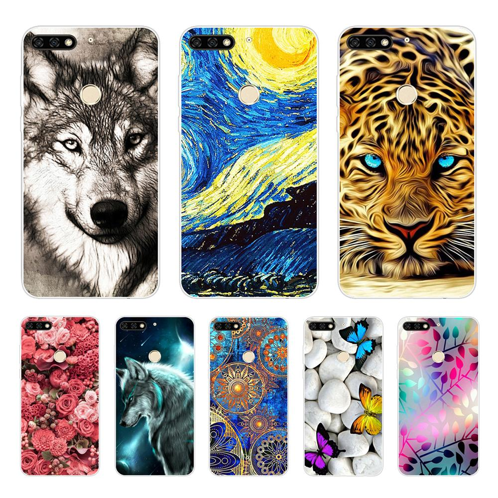 For Huawei Honor 7C Case 5.7