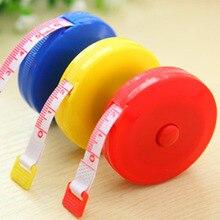 1,5 м мини автоматическая выдвижная рулетка сантиметр/дюйм линейка Гибкая линейка ярких цветов измерительная лента(случайный узор