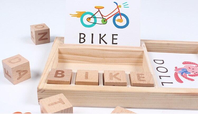 Inglês Letras Do Alfabeto Crianças Primeiros Brinquedos