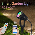 Miboxer 6W RGB+CCT Smart LED Garden Light FUTC04 AC100~240V IP66 Waterproof led Outdoor lamp Garden Lighting Highlight Turf lamp