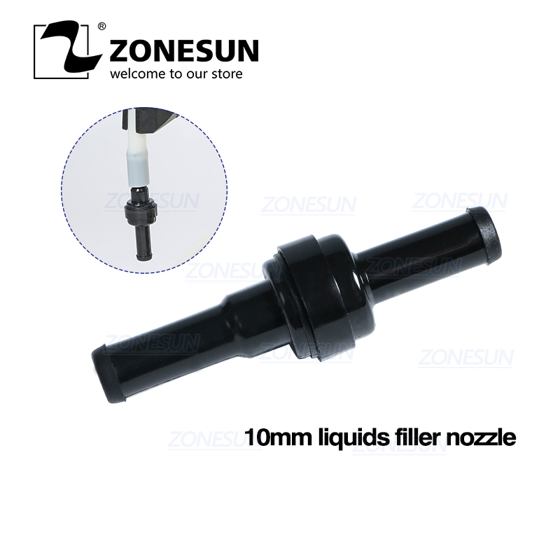 ZONESUN GFK-160 Small Size Filling Machine Nozzles For Digital Filling Machine Tiny Vials Liquid Filler Nozzle