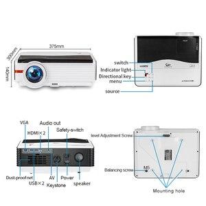 Image 5 - Caiwei A9/A9AB 스마트 LED 지원 1080p 프로젝터 홈 시네마 풀 HD 비디오 모바일 비머 안드로이드 와이파이 블루투스 hdmi VGA AV USB