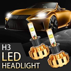 AUXBEAM 2 Pcs 60W Car LED Head