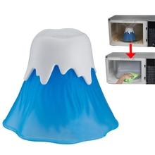 Чистая микроволновая печь кухня извержение вулкан очиститель приготовления пищи кухня гаджет Кухня Холодильник Чистка кухня Очиститель грязи
