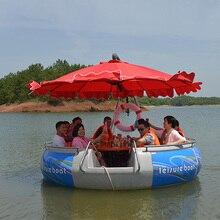 Электрический Барбекю лодка экскурсионная Лодка Водный барбекю Досуг рыболовная лодка живописное Туристическое оборудование развлечения
