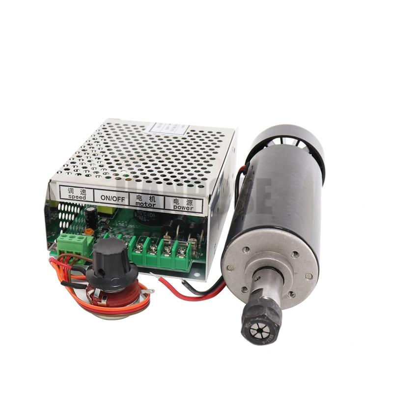 0.5kw levegőhűtésű orsómotor ER11 tokmány CNC 500W Orsó - Szerszámgépek és tartozékok - Fénykép 5