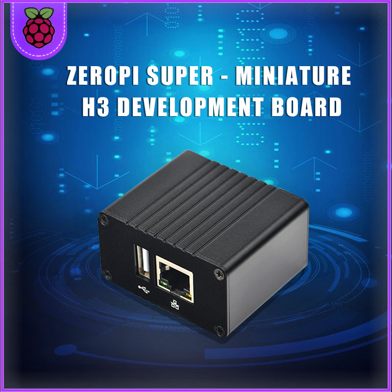 Friendly ZeroPi Super-small All Volunteers H3 Development Board Openwrt/LEDE/Ubuntu/Armbian Gigabit Network