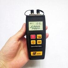 Di Trasporto libero Mini Fibra Tester Misuratore di Potenza Ottica con Visual Fault Locator OPM VFL 50mw 30mW 10mW 1mW Fibra Ottica Laser