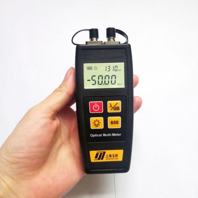 Free Shipping Mini Fiber Tester Optical Power Meter with Visual Fault Locator OPM VFL 50mw 30mW 10mW 1mW Fiber Optic Laser