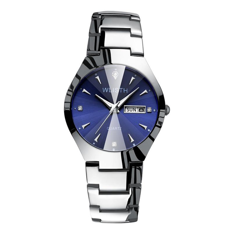 2019 New Wallace Wlisth Men's Watch Business Fashion Women's Watch Blue Light Waterproof Night Light Couple Watch