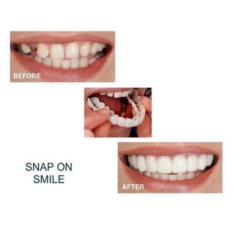Косметические зубные протезы с верхней/нижней защелкой, полиэтиленовые мгновенные виниры, имитация крышки зубов, подтяжки, инструмент для ...