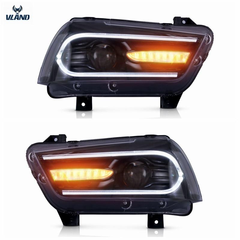 VLAND Tvornički dodaci za auto LED svjetla za punjač LED prednja - Svjetla automobila - Foto 4