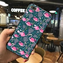 цена на case For Samsung galaxy s8 S10 Plus PINK VS Brand flamingo Case For Samsung Galaxy S7 S9 S10 Plus Black silicone cases  Soft TPU