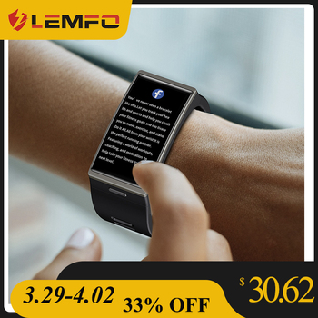 LEMFO DM12 Smart Watch 2020 Men Women 1.91inch Big Screen IP68 Waterproof Heart Rate Blood Pressure Monitoring Smartwatch 1
