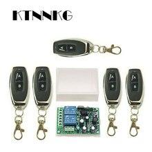 433 Mhz Universal Wireless Fernbedienung Schalter AC220V 110V 2CH Relais Empfänger Modul & RF 433 Mhz für Licht schalter KTNNKG