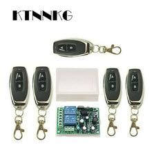 433Mhz Universal Wireless Remote Control Switch AC220V 110V 2CH Relay Receiver Module & RF 433 Mhz for Light Switch KTNNKG