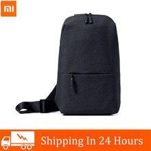 Xiaomi – sac à dos Mi Original pour hommes et femmes, sac de poitrine de loisirs urbains, petite taille, Type à épaule, unisexe