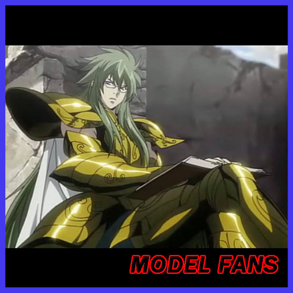 MODEL FANS pre-order <font><b>Saint</b></font> <font><b>Seiya</b></font> <font><b>cloth</b></font> <font><b>myth</b></font> ex gold <font><b>Saint</b></font> THE LOST CANVAS <font><b>Aquarius</b></font> head for Degel (fit ex body) image