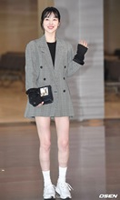 цена на 2019 Autumn New Suit Gray Pattern Small Suit Coat Korean Version Loose Medium Plaid Clothes Fashion Women Jackets and Coats