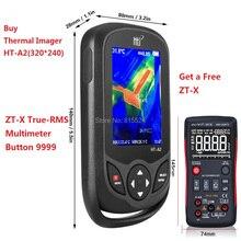 HT-A2 TFT экран теплового инфракрасного Imager камера детектор измеритель температуры измерительные инструменты 100-240 в 640*480 HT-A1